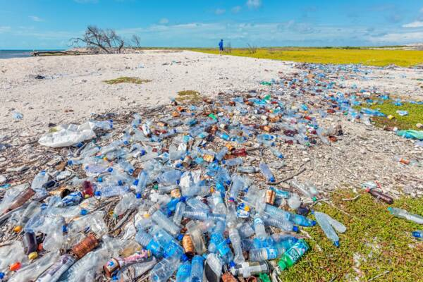 litter in the Turks and Caicos