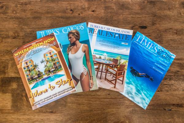 magazines from the Turks and Caicos