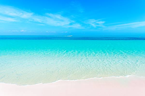 beautiful day at the Bight Beach in the Turks and Caicos