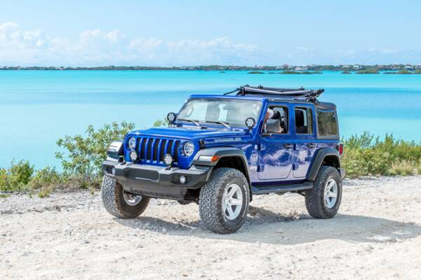 rental jeep in Turks and Caicos
