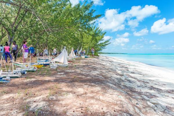 Valentine's Day Cup event on Middle Caicos