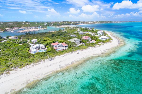 luxury villas at Smith's Reef and Turtle Cove in the Turks and Caicos
