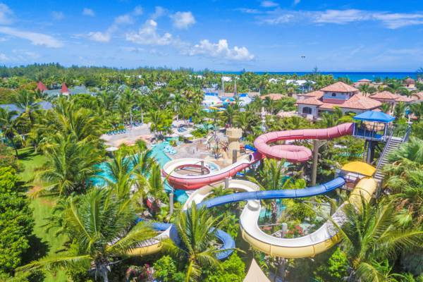 water slides at Beaches Turks and Caicos