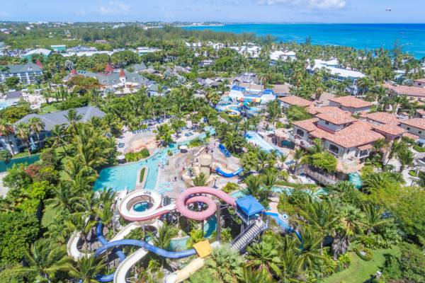 the water park at Beaches Turks and Caicos