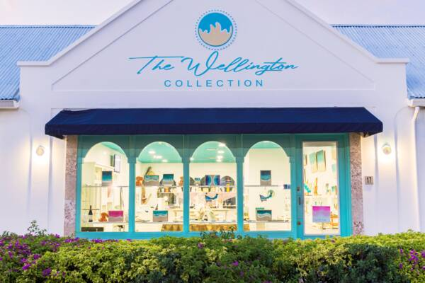 The Wellington Collection shop in the Turks and Caicos.
