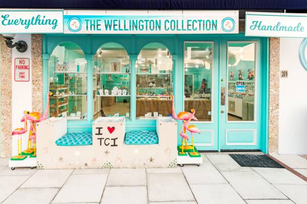 the Wellington Williams shop in Grace Bay