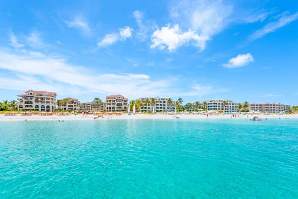 luxury resorts on Grace Bay Beach on Providenciales