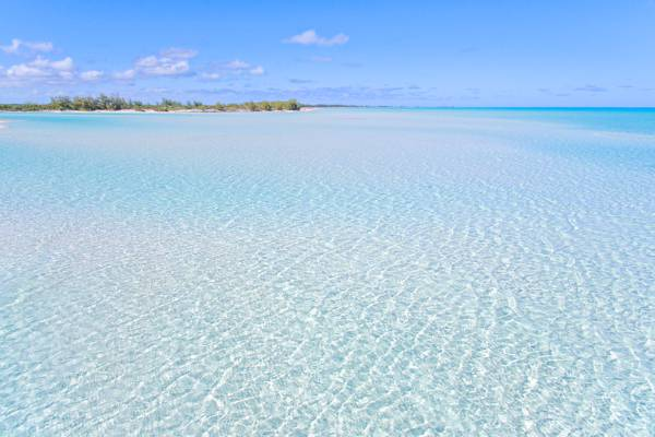 the incredible ocean at Wild Cow Run and Cedar Point on Middle Caicos