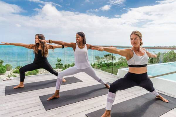 private yoga in Turks and Caicos