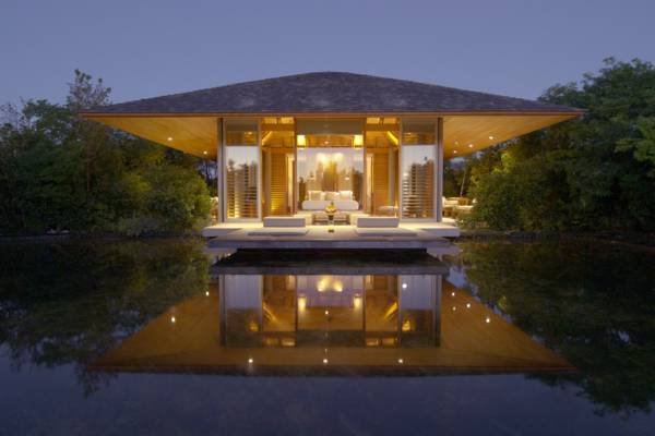 private luxury villa at the exclusive Amanyara resort