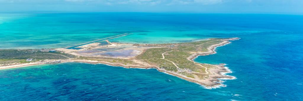 Ambergris Cay in the Turks and Caicos Islands