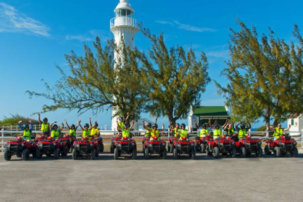 ATV excursion at the Grand Turk Lighthouse
