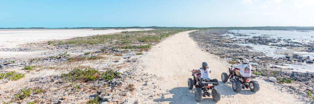 ATV tour at Northwest Point on the island of Providenciales