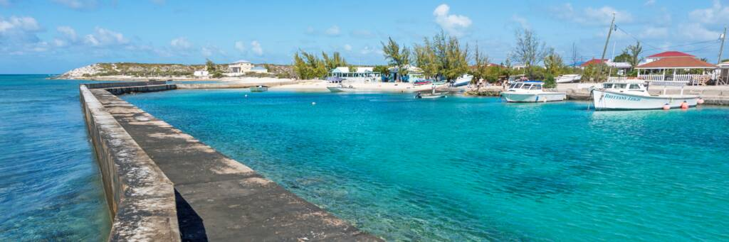Deane's Dock at Balfour Town, Salt Cay