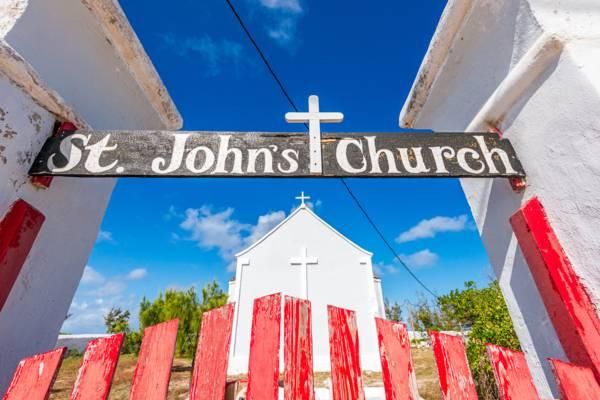 St. John's Church in Balfour Town