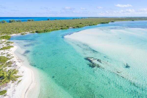 Bay Cay in the Turks and Caicos Islands