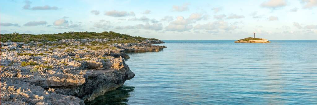 calm waters at Bird Rock, Providenciales