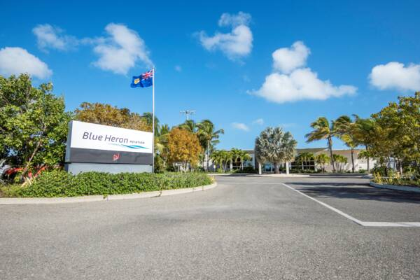 Blue Heron Aviation FBO in the Turks and Caicos