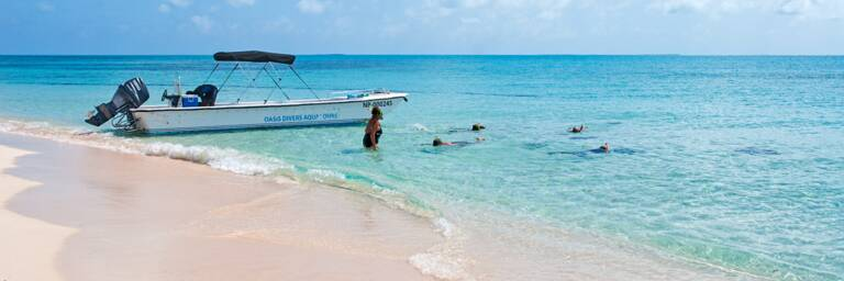boat charter cruise at Gibbs Cay in the Turks and Caicos