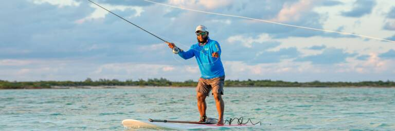 bonefishing in the Turks and Caicos