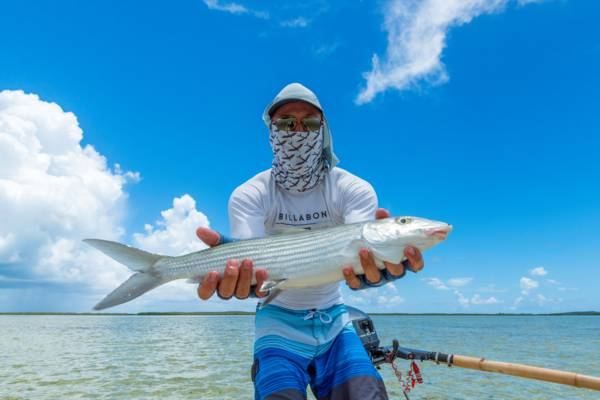 bonefish caught in the Turks and Caicos