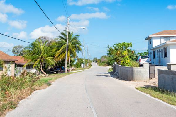 the settlement of Bottle Creek on North Caicos