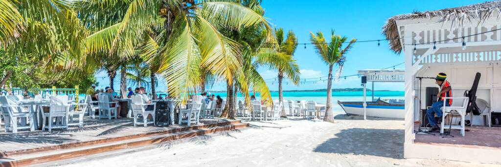 Bugaloo's Conch Crawl Restaurant in the Turks and Caicos