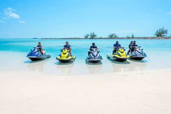 jet skis in Turks and Caicos