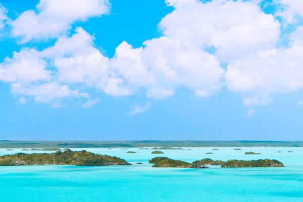 the Chalk Sound National Park attraction on Providenciales