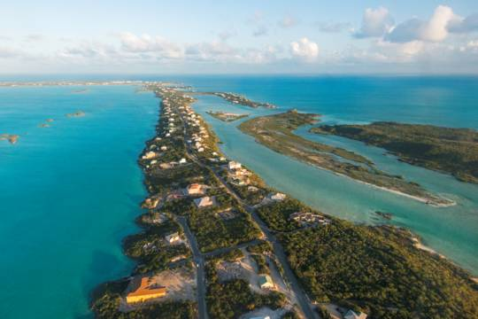 the Chalk Sound region on Providenciales