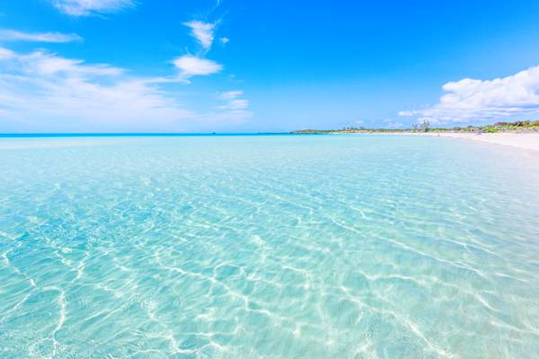 Taylor Bay at Chalk Sound on the island of Providenciales
