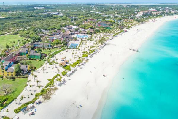 the incredible beach and amenities of Club Med on Grace Bay