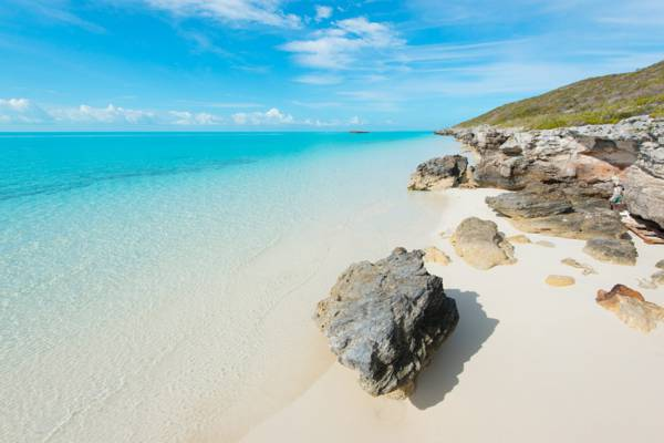 calm water at Cooper Jack Beach on Providenciales