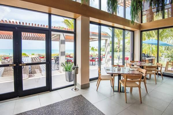 Coralli restaurant interior