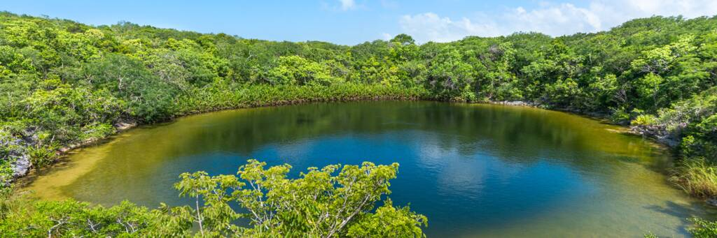 Cottage Pond on North Caicos