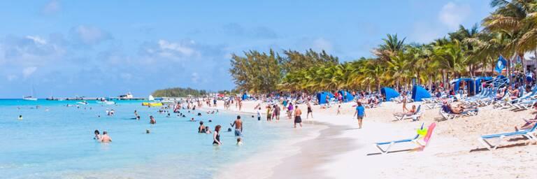 the Cruise Center Beach