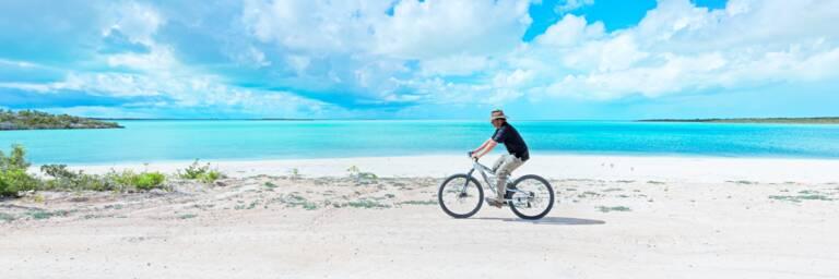 cycling at South Caicos