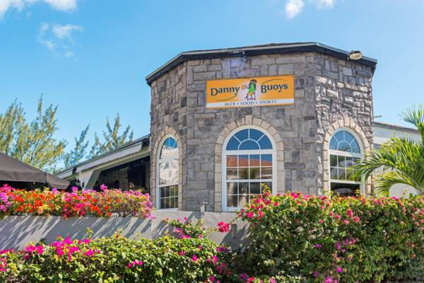 Danny Buoy's restaurant and pub in Turks and Caicos