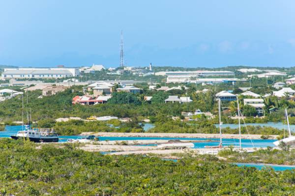 the Discovery Bay region on Providenciales in the Turks and Caicos
