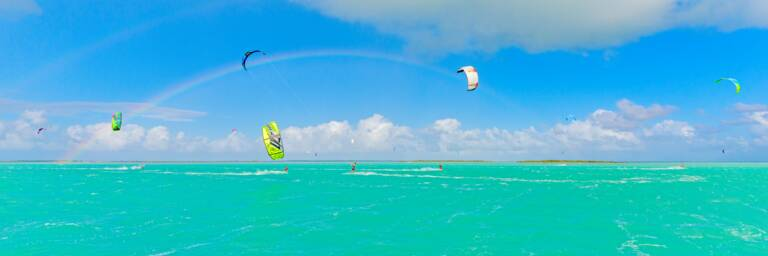 Kiteboarding safari in Turks and Caicos
