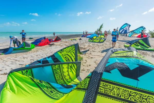 downwind kiteboarding safari in the Turks and Caicos