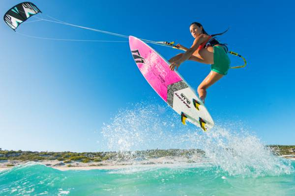 kiteboarding at Providenciales