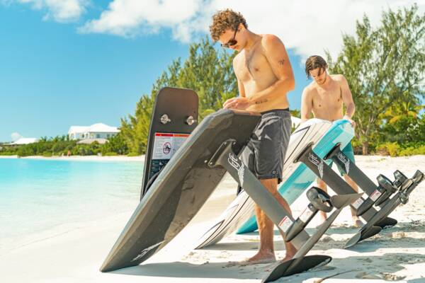 e-foil rentals in Turks and Caicos