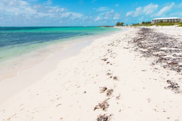 East Bay Beach in the Turks and Caicos