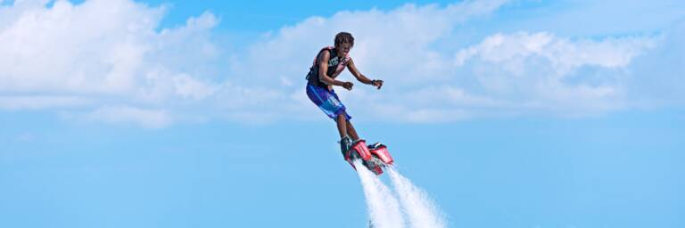 Turks and Caicos flyboarding