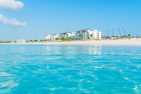 the luxury Gansevoort resort on the Bight Beach