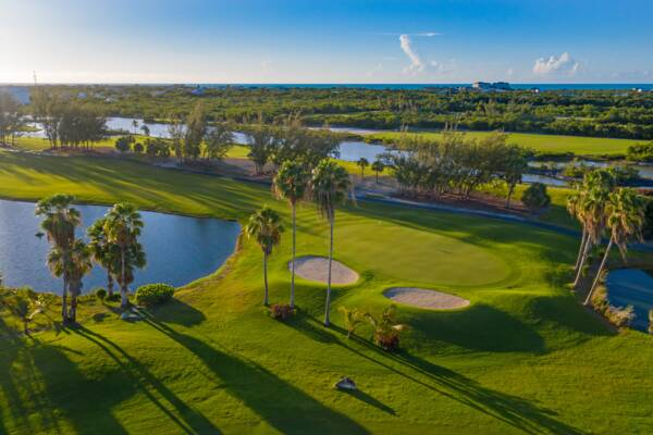 golf course in the Turks and Caicos