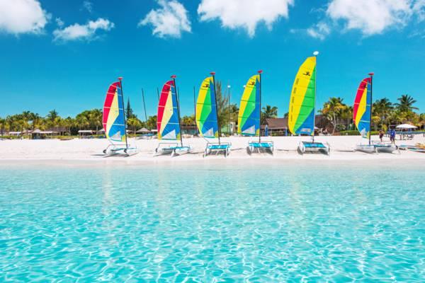 sailboats on Grace Bay Beach