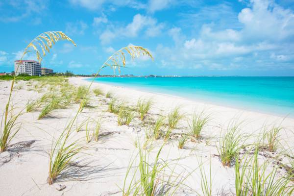 Grace Bay Beach on the island of Providenciales