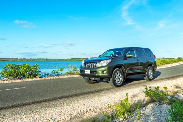 Land Cruiser in Turks and Caicos